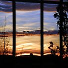 Sunset window by Cricket Jones
