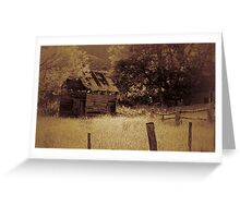 still standing Greeting Card