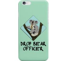 Drop Bears Preservation Society iPhone Case/Skin