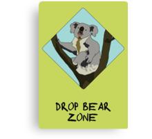 Drop Bears Preservation Society Canvas Print