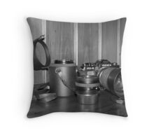 Dad's Gear Throw Pillow