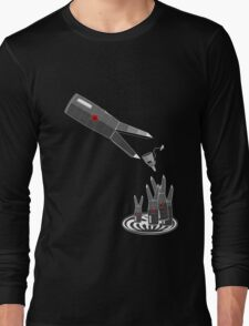 Feeding time at evil headquarters Long Sleeve T-Shirt