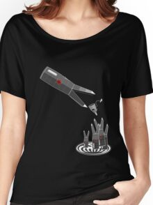 Feeding time at evil headquarters Women's Relaxed Fit T-Shirt