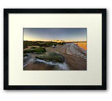 The Rush of the Powlett River Framed Print