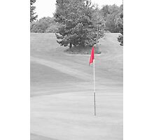 red flag Photographic Print