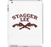 Stagger Lee - Crossed Pistols Edition iPad Case/Skin