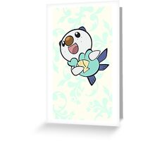 Fancy Oshawott Greeting Card