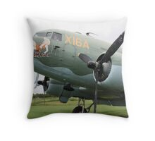 WW2 DC3 Throw Pillow