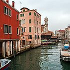 A Gray Day in Venice by eddiechui