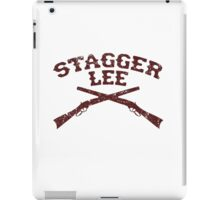 Stagger Lee - Crossed Rifles Edition iPad Case/Skin