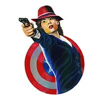 PEGGY CARTER Photographic Print