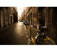 Roma Street Scene Photographic Print