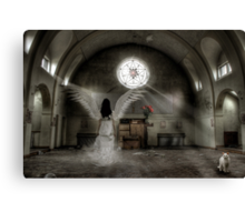 Temple Unholy Canvas Print