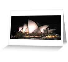 Opera by Night Greeting Card