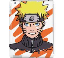 Naruto Shippuden - Naruto Minimal 3 iPad Case/Skin