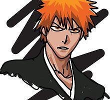 Bleach - Ichigo Minimal 3 by MBettsdesign