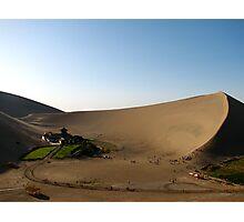 Crescent Srping, Dun Huang, China Photographic Print