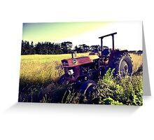 Massey Ferguson 165 Greeting Card