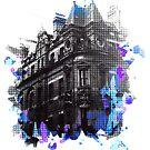 Splotchy Castle by Mark Boddington