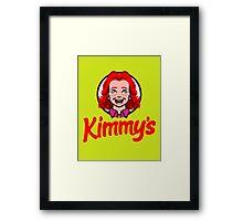 Kimmy's Framed Print