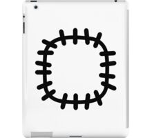 Patch clothes iPad Case/Skin