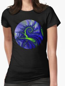 Seascape I T Womens Fitted T-Shirt