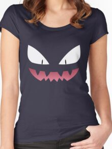 Pokemon - Haunter / Ghost Women's Fitted Scoop T-Shirt