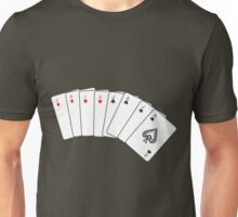 Laugh and poker Unisex T-Shirt
