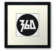 360 Rapper Logo  Framed Print