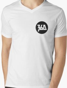 360 Rapper Logo  Mens V-Neck T-Shirt