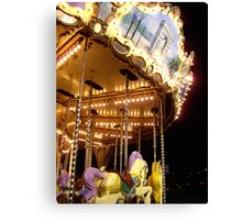 The Magic Carousel Canvas Print
