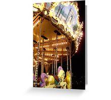 The Magic Carousel Greeting Card