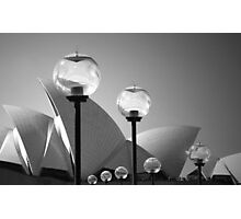 Lights At The Opera House Photographic Print
