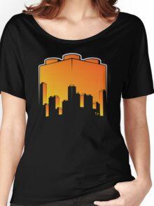 BrickCity Sunset Women's Relaxed Fit T-Shirt