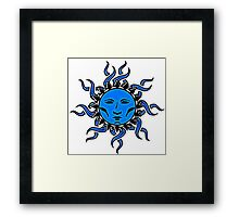Sublime Moon Character #2 Vibrant Design by CAP Framed Print
