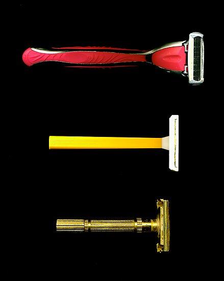 Razors. 1965-1985-2009 by Daniel Sorine