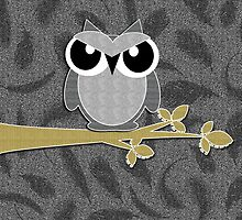Wise Guy Owl Scrapbook Glitter Style by Doreen Erhardt