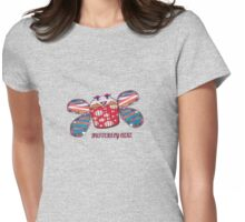 Butterfly Cake Womens Fitted T-Shirt
