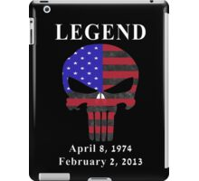 RIP Chris Kyle Memorial, the Legend iPad Case/Skin