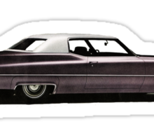 1969 Cadillac Coupe De Ville Sticker