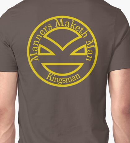 Manners Maketh Man [Kingsman] – Alternate Shirt Unisex T-Shirt