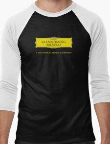Danzig Black Aria Deutsche Grammophon Mashup Men's Baseball ¾ T-Shirt