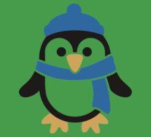 Penguin winter scarf Baby Tee