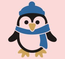 Penguin winter scarf Kids Clothes