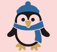 Penguin winter scarf One Piece - Short Sleeve