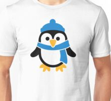 Penguin winter scarf Unisex T-Shirt