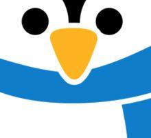 Penguin winter scarf Sticker