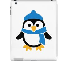 Penguin winter scarf iPad Case/Skin