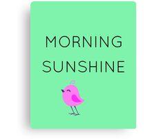 Morning Sunshine Canvas Print