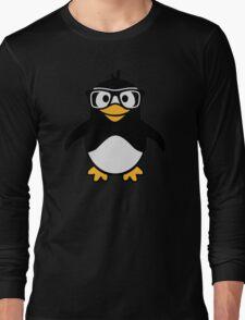 Penguin glasses Long Sleeve T-Shirt